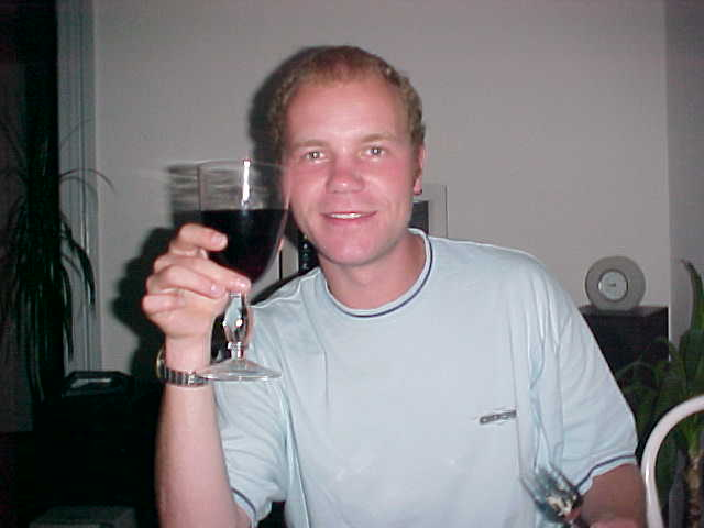 Cheers! That was for me a long day as you can notice from my eyes... Tired?