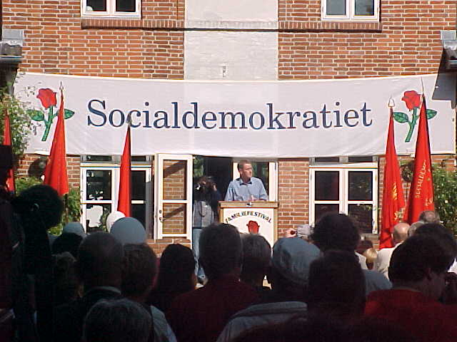 And there was a speech by the Danish Prime Minister!