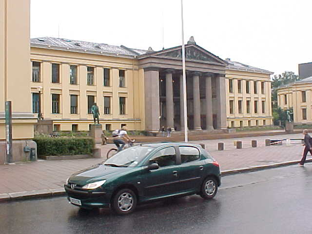 The Oslo University of Law.