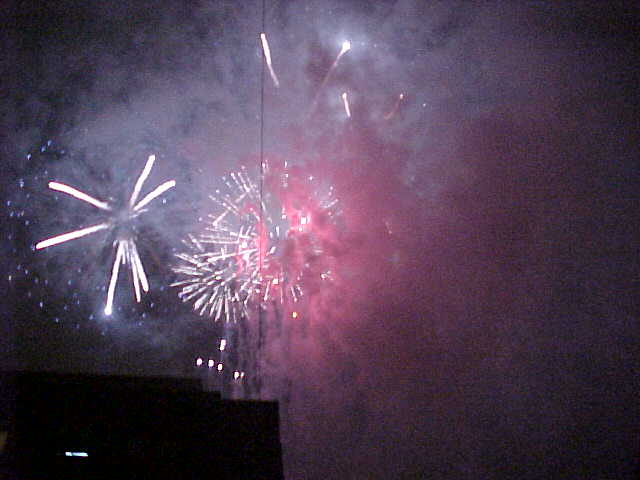 ...great fireworks and so loud!