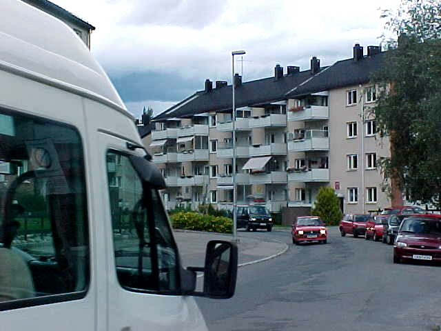 The apartment complex where Rembo lives in.