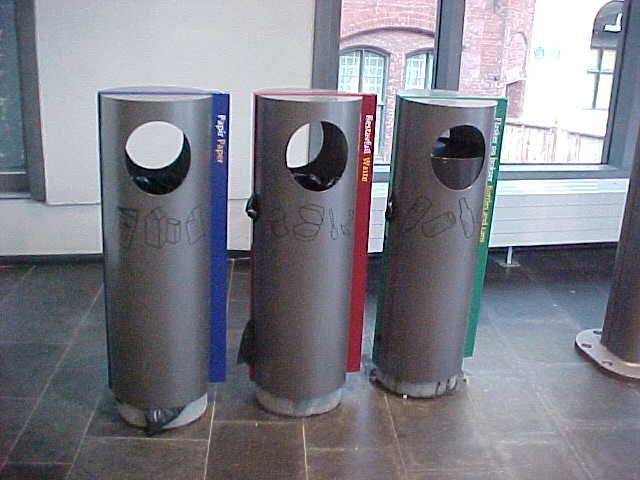 The recycle bins that keep Norway this clean (see report Aug 27).