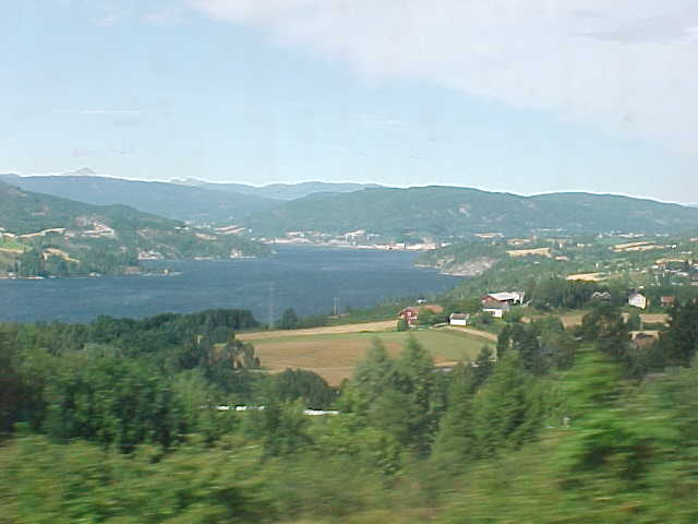 My view from the train on... what you see.
