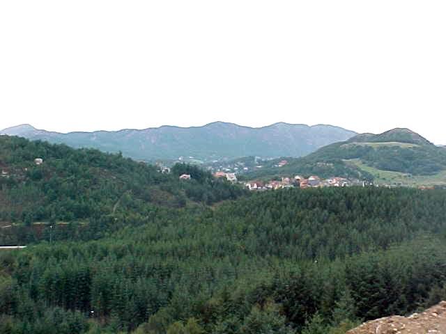 Views on the hills around Sandnes (2).
