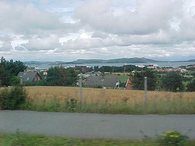 Leaving Stavanger...