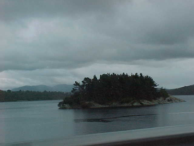 And on another ferry... Nice islands.