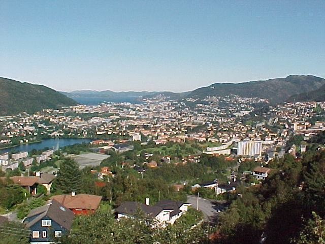 On a higher point of view in the north of Bergen...