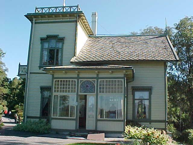 The home of Norwegians most popular musician and composer, Edvard Grieg.