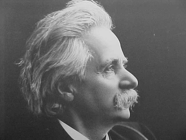 Portrait of Edvard Grieg from the museum.